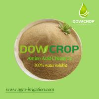 Buy cheap DOWCROP Hot sale High qulity AMINO ACID CHELATED IRON 100% water soluble fertilizer Organic fertilizer product