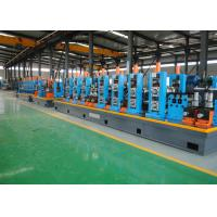 Buy cheap PLC Control HF ERW Steel Pipe Mill Machine Cold Saw With 120m / Min Speed from wholesalers