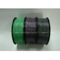 Buy cheap Custom Color Changing abs and makerbot pla filament 1.75 / 3.0mm Grey to white product