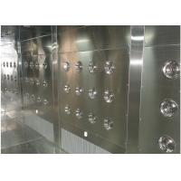 Buy cheap Customized Air Shower Tunnel With Automatic Sliding Door And PLC Control System product
