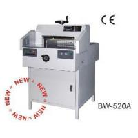 Buy cheap LCD Display Paper Cutter with Manual Spindle Clamp (BW-520A) product