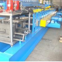 Buy cheap 5.5KW Metal Gutter Roll Forming Machine With PLC Control System product