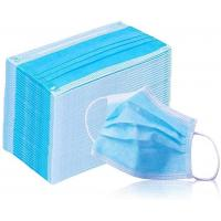 Buy cheap Non Woven 3 Ply Face Mask Hypoallergenic For Most Adult Men Or Women product