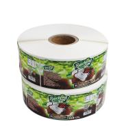 Buy cheap Canned Food Labels Food Jar Seal Sticker Adhesive Paper Material For Decoration product