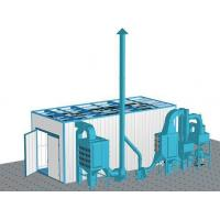 Buy cheap Dust Cleaning Sand Blasting Room , Abrasive Blast Cabinet Customized Power product