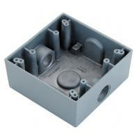 """Buy cheap Square Watertight / Waterproof Electrical Box 1/2"""" 3/4"""" Size To Protect Conductors product"""