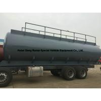 Buy cheap Hydrochloric Acid Tank Body 25500L For South America Trucks product