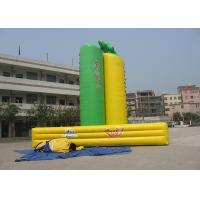 China Durable Inflatable Interactive Games Inflatable Climbing Wall For Playground on sale