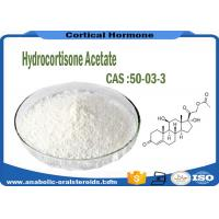 Buy cheap Hydrocortisone Acetate CAS 50-03-3 Medicine Raw Material C23H32O6 Odorless product