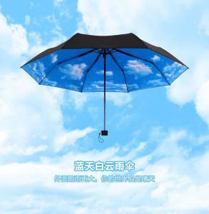 siver que alinha 3 guarda-chuvas dobráveis de /advertising dos guarda-chuvas da seção/guarda-chuvas do presente