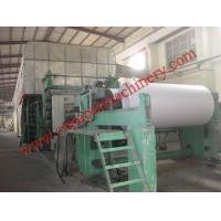 Buy cheap 2100mm fourdrinier wire and multi-cylinder newspaper machine from wholesalers