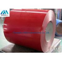 China Light Weight Pre Painted Aluminium Coil 3003H24 3003H26 Weather Resistant on sale