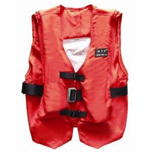 Buy cheap Lightweight Solas Life Jacket Vest , Life Preserver Vest Orange Color product