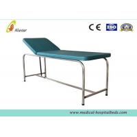 Stainless Steel Exam leather adjustable couch (ALS-EX104)