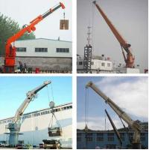 Buy cheap Deck Cargo Handling Marine Crane product