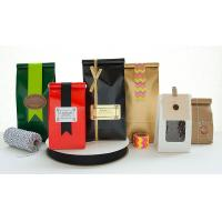 China multi colors printing Coffee Packaging Bags various shapes wholesale