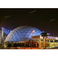 Buy cheap Theme Park 360 Degree Ball Screen 5D Dome Movie Theater With Electric System product