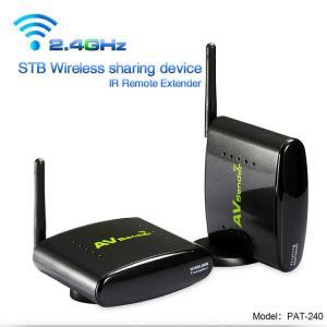 250 Meter Transmit Distance Wireless Audio Video Transmitter Sender with IR Remote Control