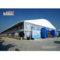 Buy cheap 40m Width Dome Shape Aluminum and PVC Frame Tent with 8m Side Height for Outdoor Exhibition and Events product