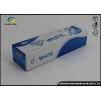 Buy cheap Custom Toothpaste Packing Paper Box Glossy Lamination 0.2 - 0.6mm Thickness product