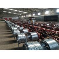 China Automatic Wire Galvanizing Line Customized Voltage For Construction Binding Wire on sale