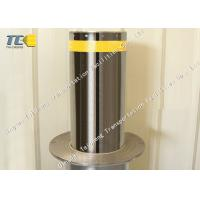 Buy cheap Polished Stainless Steel Pneumatic Bollards For Airport / Military Base product