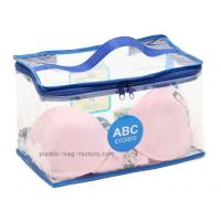 Buy cheap Dual Zippers Household Storage Bags Non Toxic Plastic Material For Garments product
