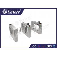 Buy cheap Access Control System Pedestrian Barrier Gate , Stainless Steel Swing Gate product