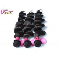 China Indian Loose Wave Indian Virgin Hair Young Girl Hair Weaves Black Color 18 Inch wholesale