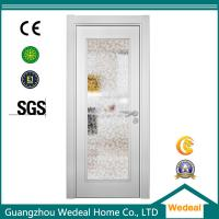 Buy cheap Factory Supply White Wood Interior Panel Doors with Glass Panel product