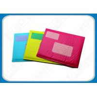 Buy cheap Colorful Co-Extruded Poly Bubble Envelopes , Recyclable Bubble Pack Envelopes product