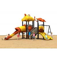 Quality RobotWeldingTechnology Childrens Plastic Playground Yellow Color For Hip Hop for sale