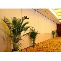 China High Sound Proof Movable Walls Folding Internal Doors For Office 100mm Panels on sale
