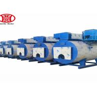 Low Pressure Horizontal Gas Fired Steam Oil Boiler Food Factory Usage