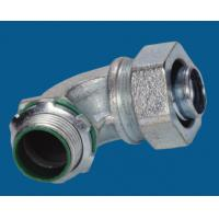 Buy cheap Waterproof Malleable Iron Fittings 90 Degree Liquid Tight Connector Fire Resistance product