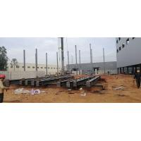 Buy cheap Prefabricated Workshop Steel Structure With Hot - Rolled Steel Profiles from wholesalers