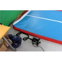 Quality 5cm Indoor Tumble Track Equipment , Blue Air Track Trampoline With ROHS/SGS CERT for sale