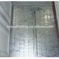 Buy cheap Adto 420*45*1800mm Galvanized Scaffolding Metal Planks with Hooks product