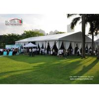 500 People Outdoor Event Tents with Glass Wall and Lighting for Catering Service, Heavy Duty Event Tent for Sale