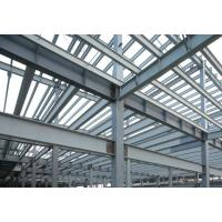 Buy cheap High Strength Pre-fabricated Steel Building Structures for High - Raise Building, Stadiums product