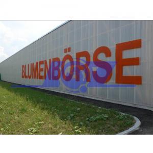 China Germany technology fiberglass reinforced hollow lightweight sound barrier panel on sale