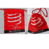 Buy cheap Customized Women's favorite / convenie nce / festive red / drawstring plastic bags  for gifts / clothing, clothes. product