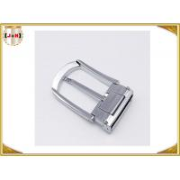 Buy cheap Various Colors Noble Metal Belt Buckle , Solid Silver Color Belt Buckle product