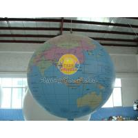 Buy cheap 7ft Diameter Inflatable Advertising Helium Earth Balloons Globe for Political events product