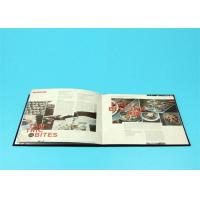 Buy cheap 400gsm Hardcover Book Printing For Catalogue / Brochure / Magazine product
