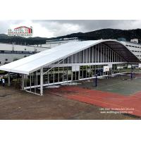 Buy cheap 40m Width Event Center Clear Span Tents Wedding Arch  with Glass Wall product
