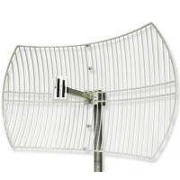 China 2.4G WIFI Grid Parabolic Antenna With 24dbi on sale