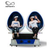 Buy cheap Double Seater Virtual Reality Capsule , Free Vision 9D Egg Cinema For Adult product