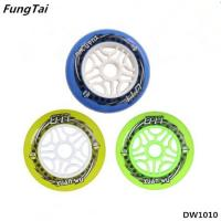Buy cheap Skates Wheel Roller Inline Skate Shoes Speed Skate Wheels 90mm 100mm 110mm Wheels Yellow Green Blue Colors (DW1010) product