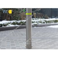 Buy cheap Outdoor Removable Security Bollard Fold Down Parking Bollards Eco Friendly product